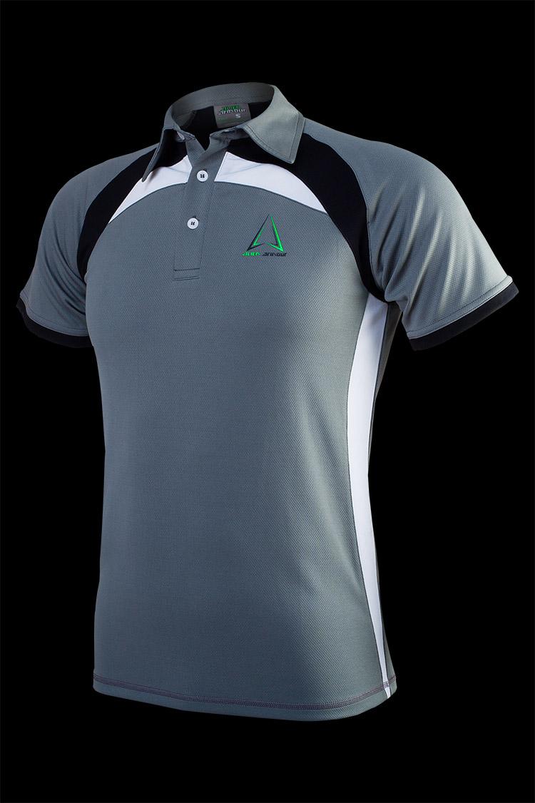 Men's Irona II Polo T-shirt P001 grey_front.jpg