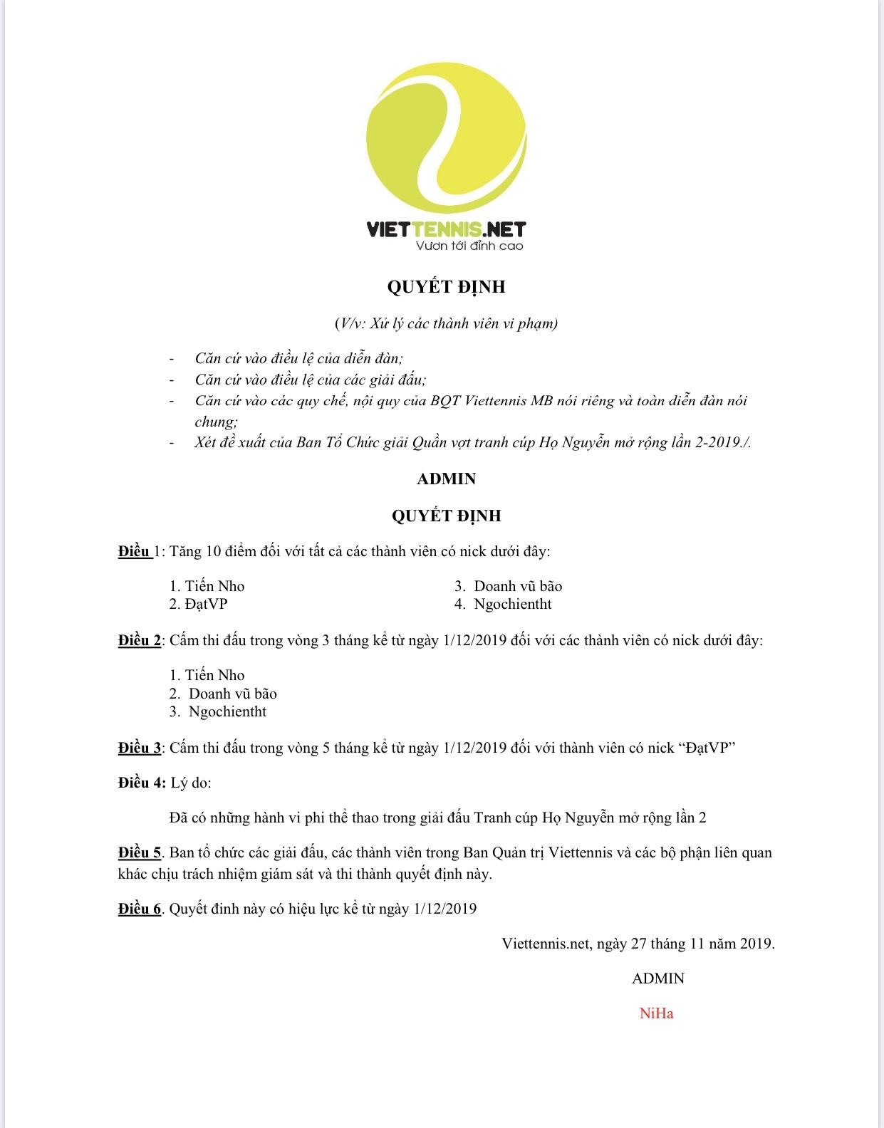 QD xử phạt 4 VDV giai ho Nguyen 2.jpg
